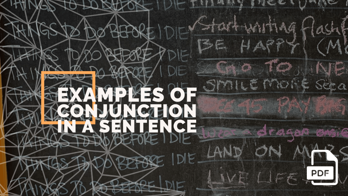 10+ Examples of Conjunction in a Sentence [PDF]