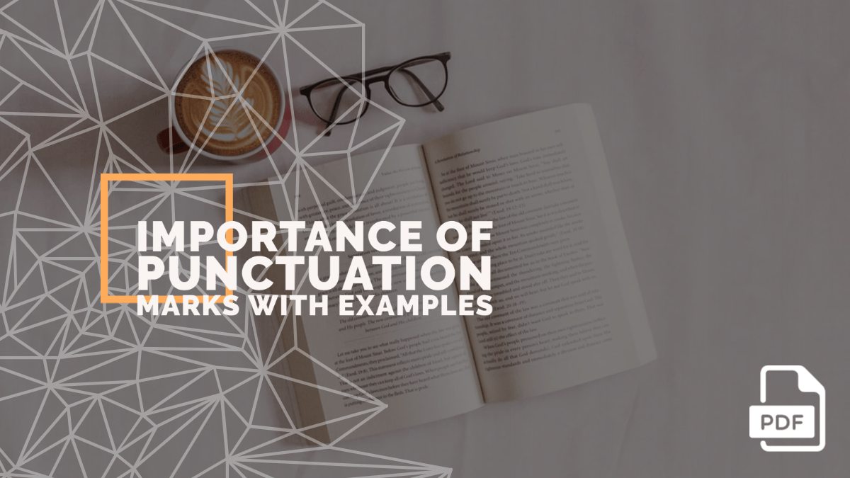 Importance of Punctuation Marks with Examples [PDF]