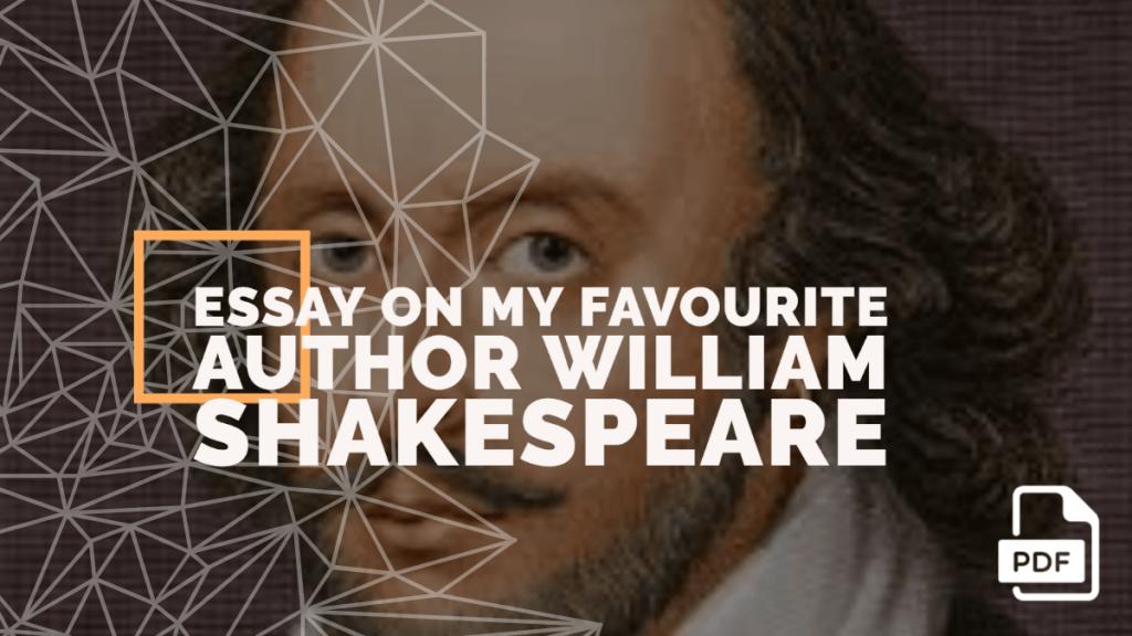 William Shakespeare feature image