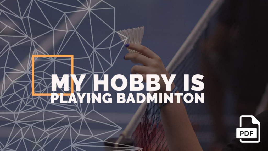 playing badminton feature image