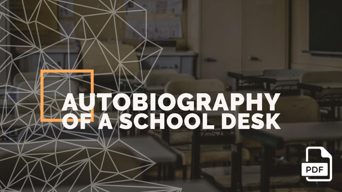 Autobiography of a School Desk [PDF]