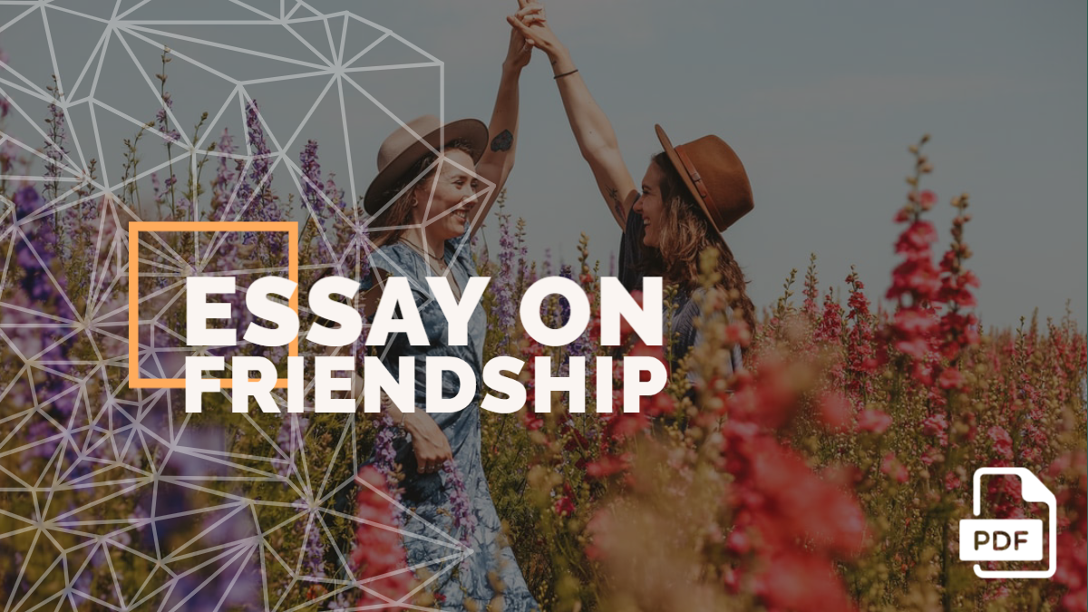 An Essay on Friendship (under 1000 Words)[With PDF]