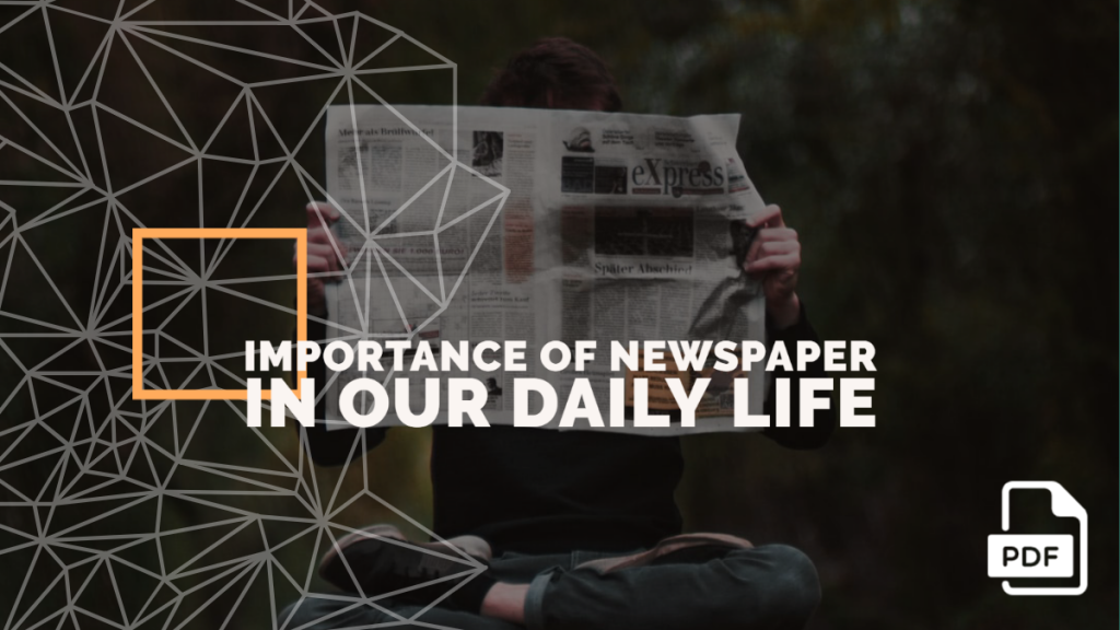 Importance of Newspaper in our Daily Life feature image