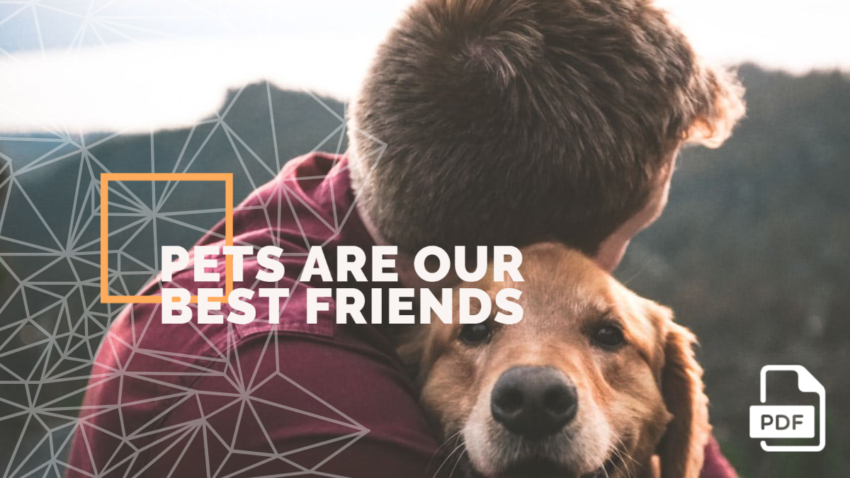 Essay on Pets are Our Best Friends [PDF]