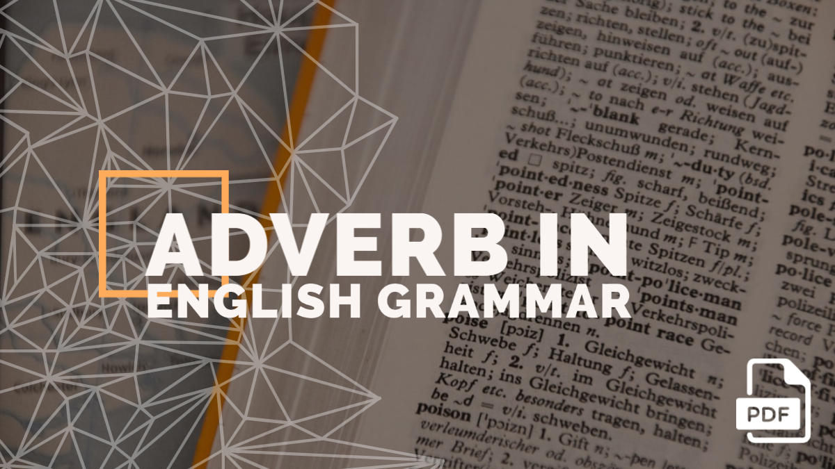 Adverb in English Grammar with Examples [PDF]