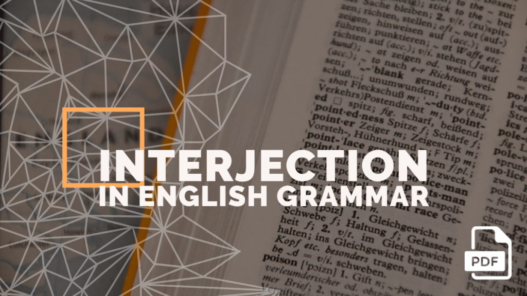 interjection feature image