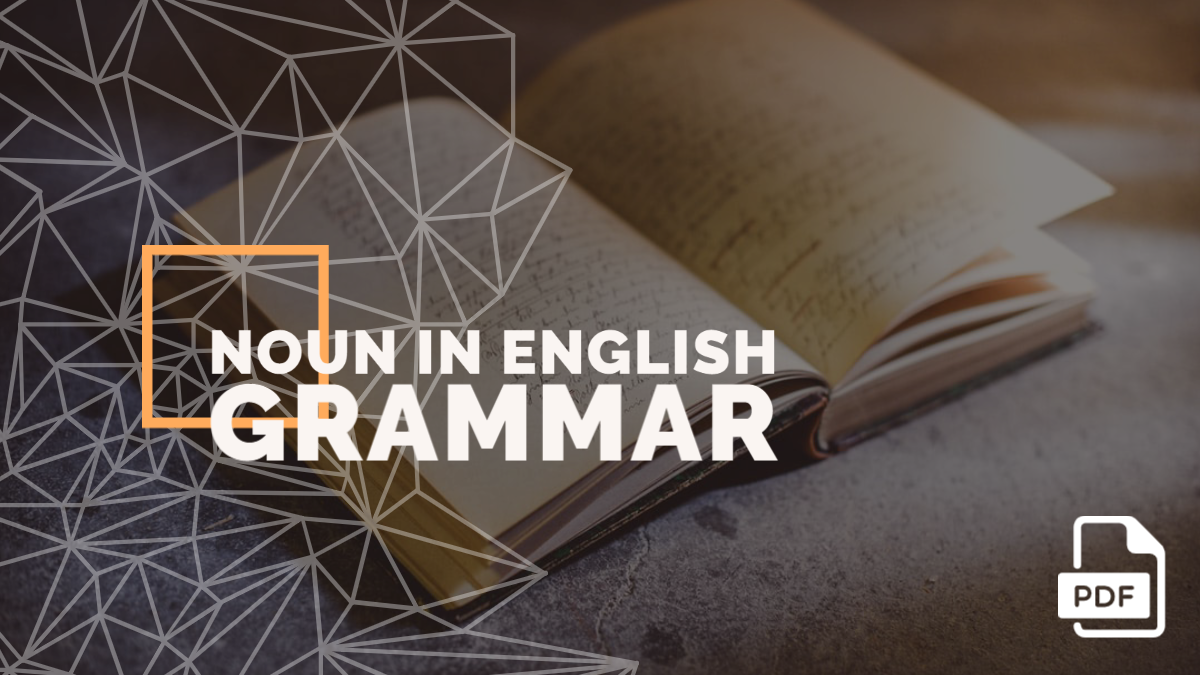 Noun in English Grammar with Examples [With PDF]