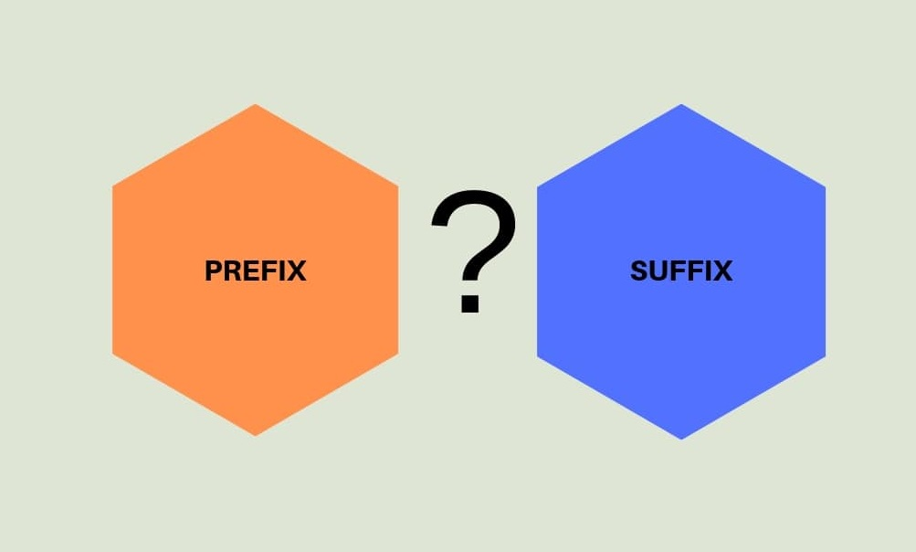Prefix and Suffix in English Grammar with Examples [PDF]