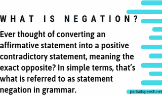 Negation in English Grammar with Examples [PDF]