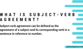 Rules of Subject-Verb Agreement and Their Examples [PDF]