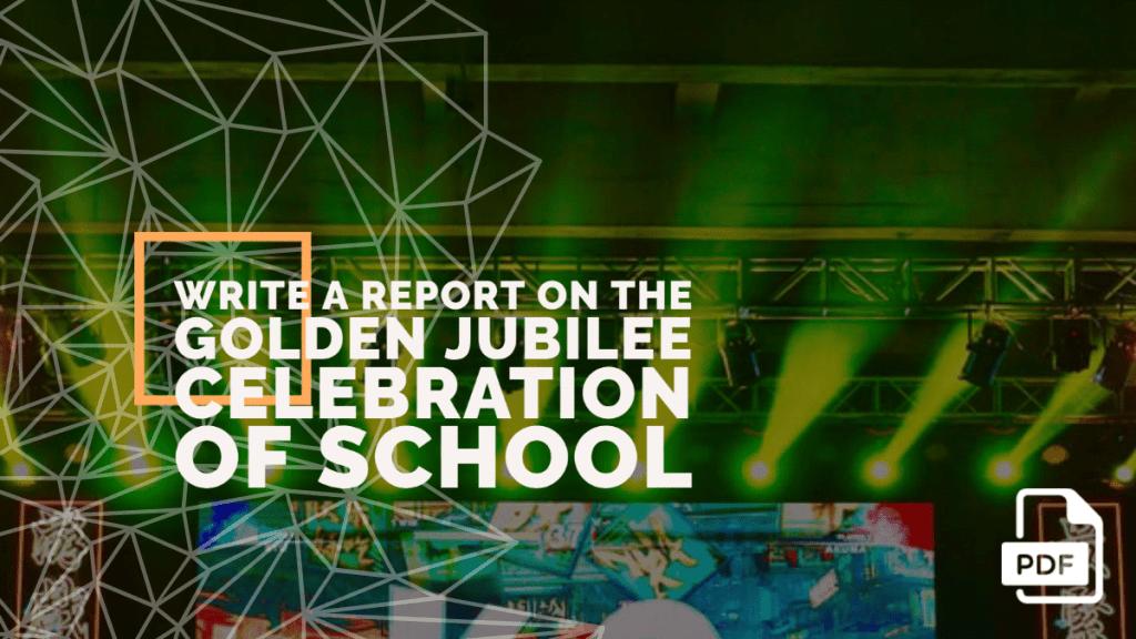 golden jubilee celebration of a school