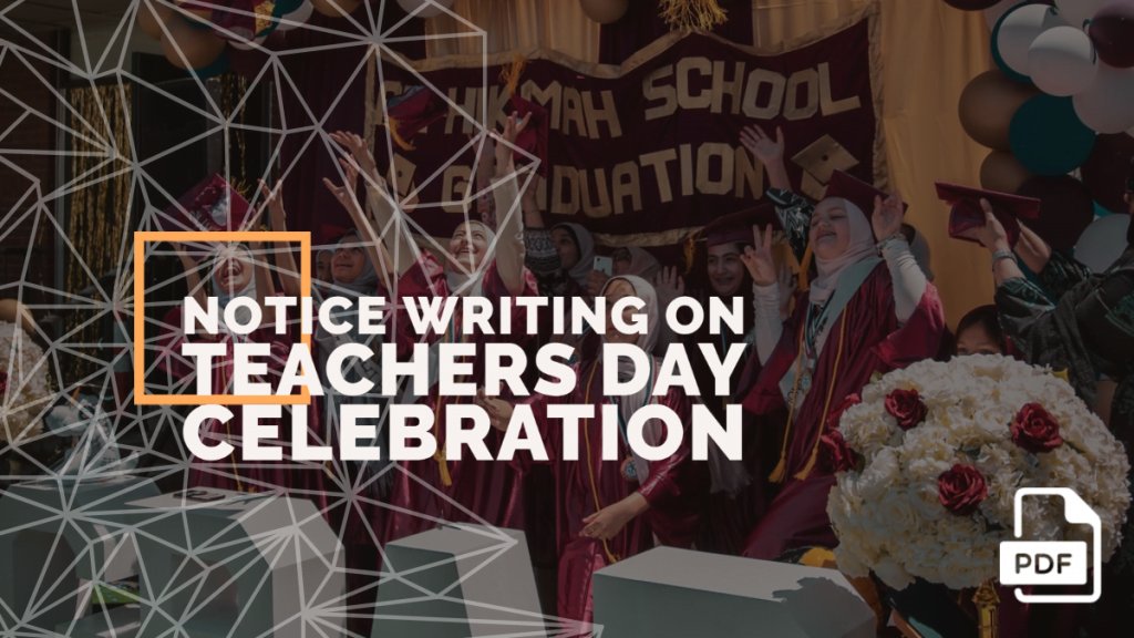 feature image of notice writing on teacher's day celebration