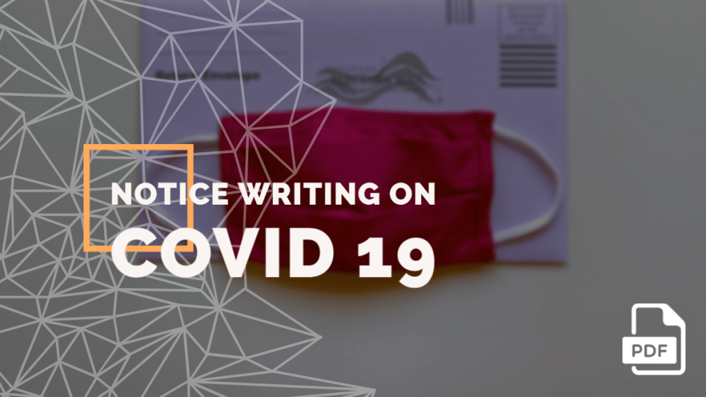 feature image of Notice Writing on COVID 19