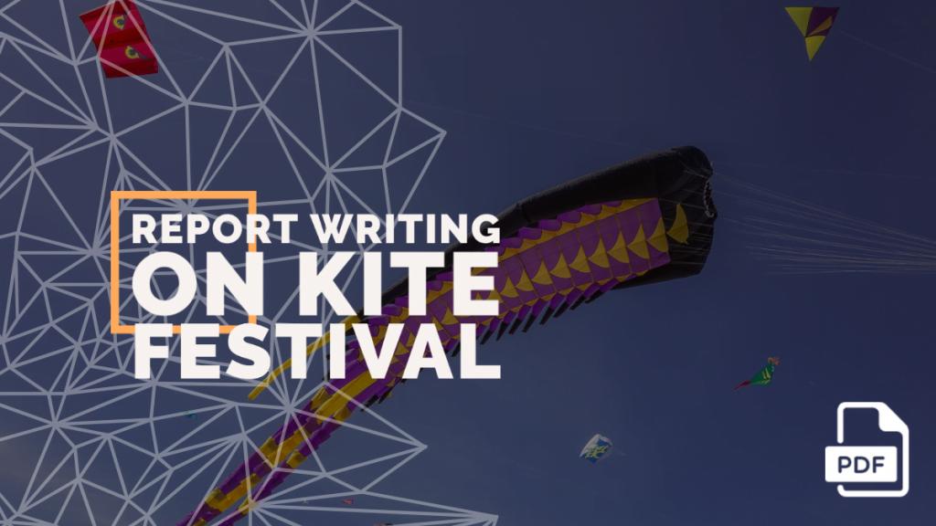 Report Writing on Kite Festival
