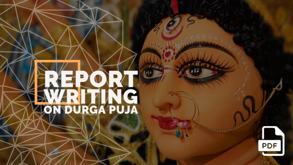 feature image of Report Writing on Durga Puja