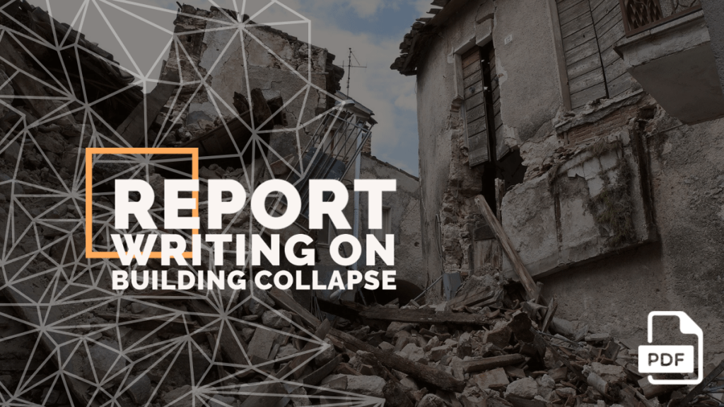 feature image of report writing on building collapse