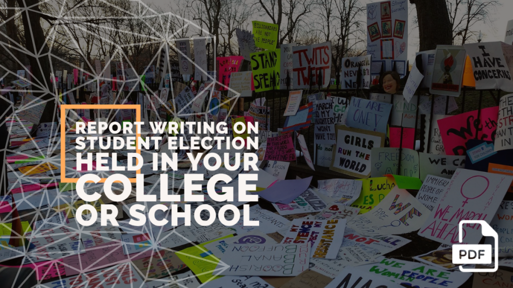 feature image of Report Writing on Student Election Held in Your College or School