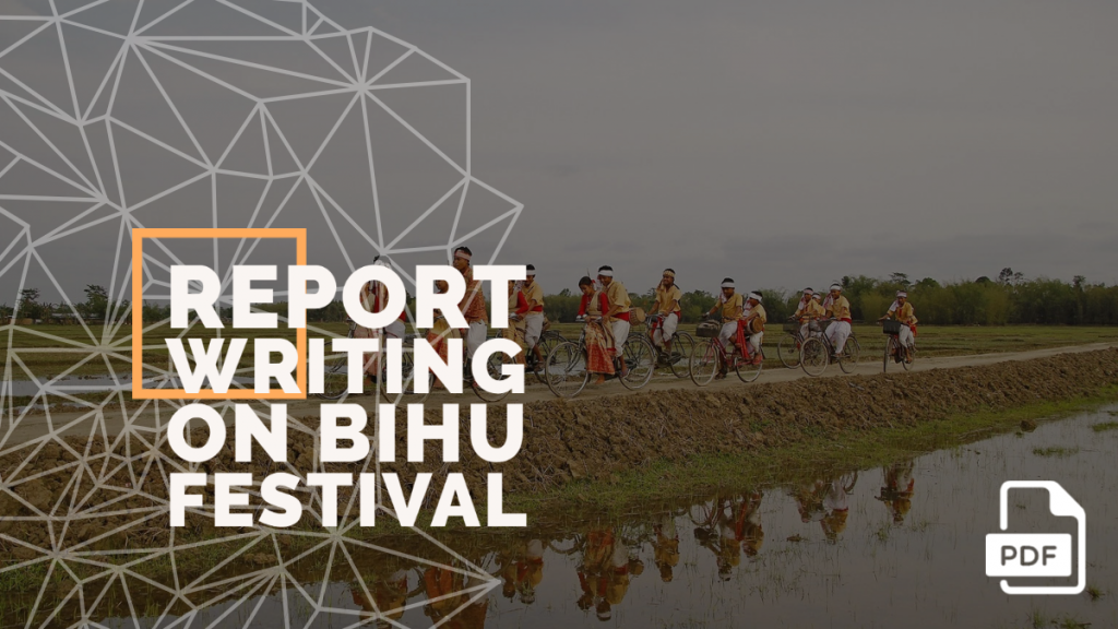 feature image of report writing on bihu festival