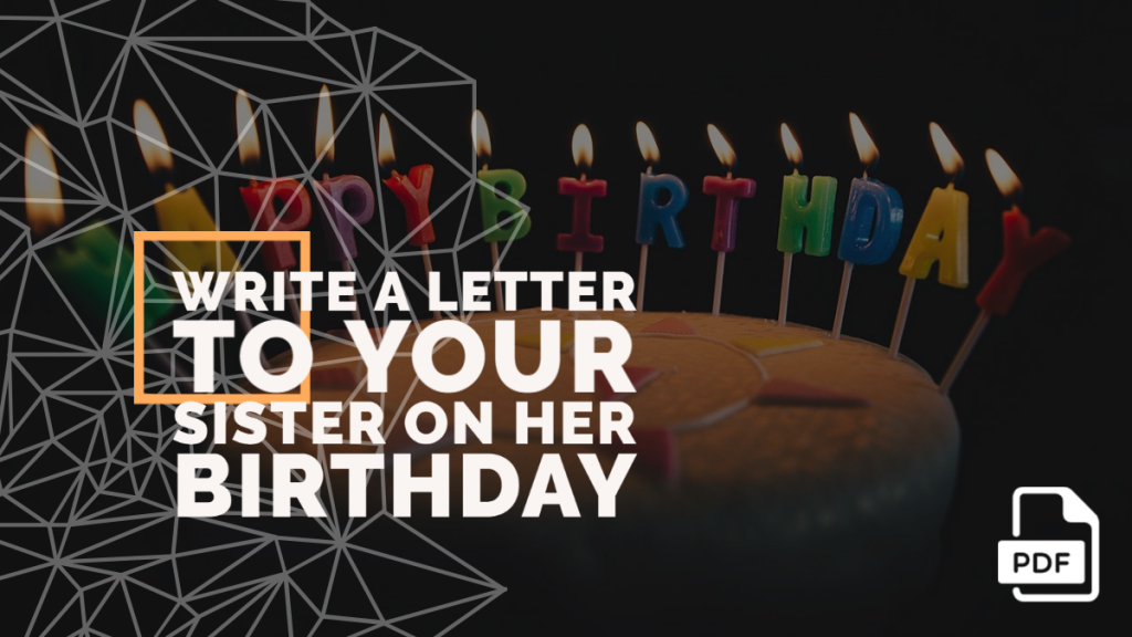 Feature image of Letter to Your Sister on Her Birthday