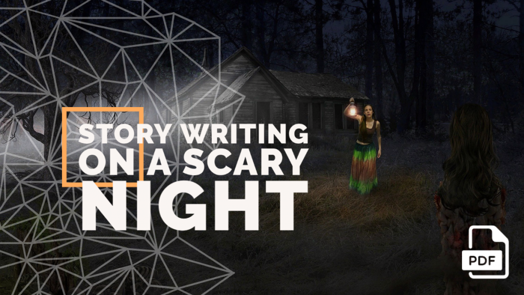 feature image of Story Writing on a Scary Night