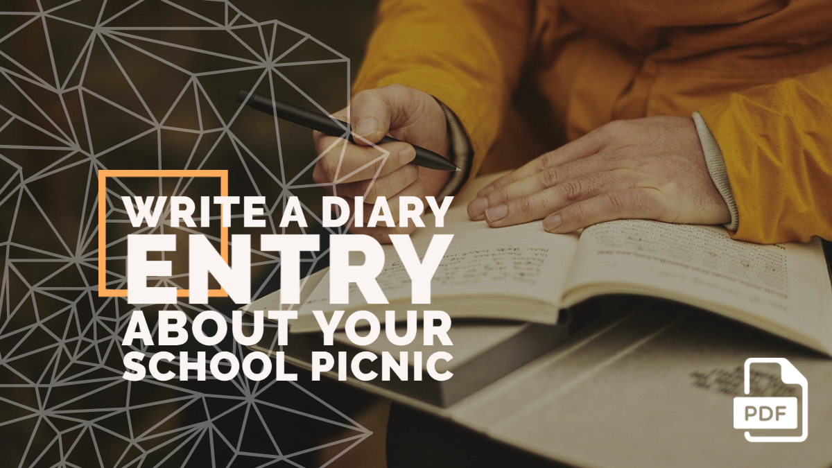 Write a Diary Entry about Your School Picnic