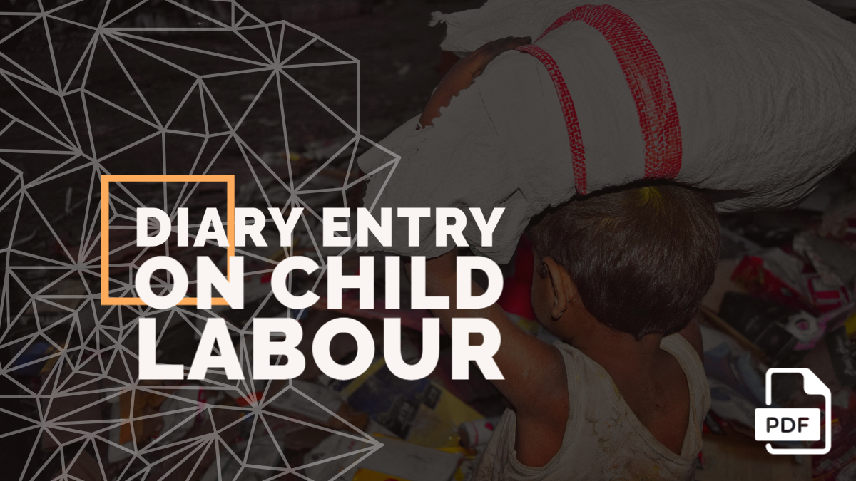 Diary Entry on Child Labour