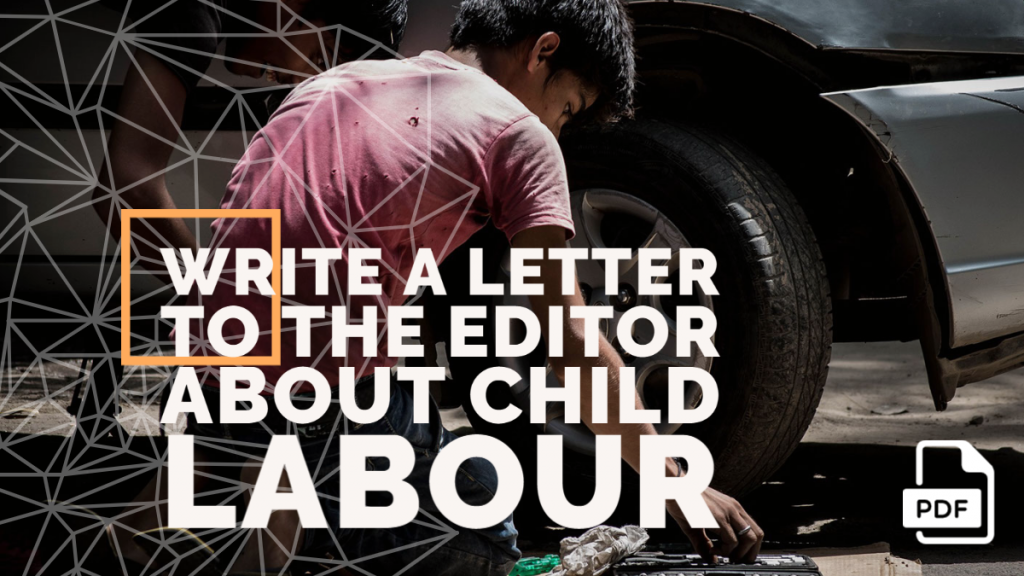Feature image of Letter to the Editor about Child Labour