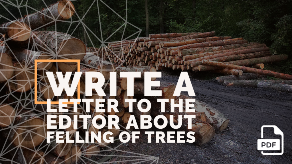 Feature image of Letter to the Editor about Felling of Trees
